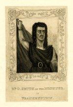 O Smith as the monster in Frankenstein